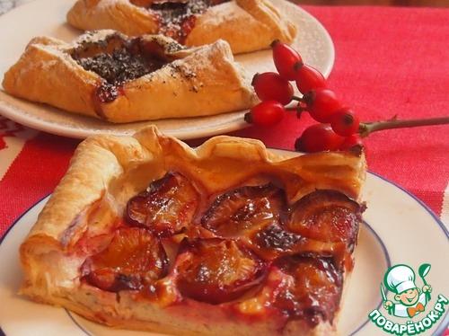 Пироги со сливами рецепты с фото легкие