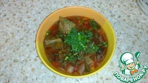 Как приготовить Борщ для правильного питания домашний рецепт с фотографиями пошагово