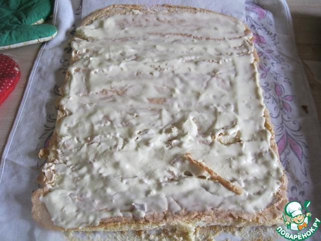 Торт рулет рецепты пошагово