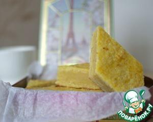 Рецепт Песочный бретонский пирог
