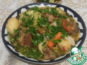 """Рецепт """"Дамлама""""узбекская"""