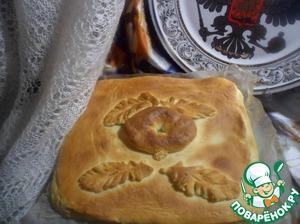 Рецепт Домашний мясной пирог с рисом