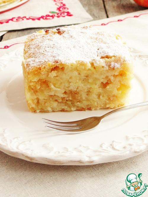 Пирог из кефира рецепт с манкой