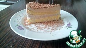 Рецепт Шоколадно-банановый торт (мусс-мороженое)