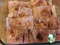 Гратен из лосося с овощами ингредиенты