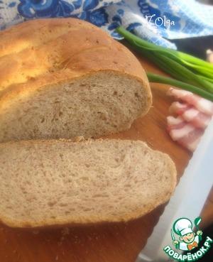 Рецепт Гречневый хлеб на сыворотке