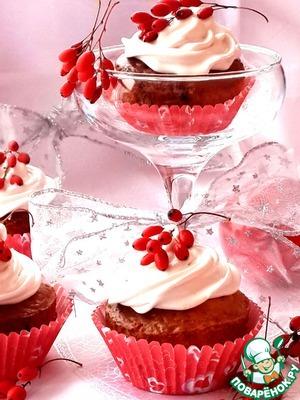Рецепт Барбарисовые новогодние кексы