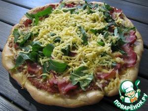 Рецепт Итальянская пицца по-домашнему