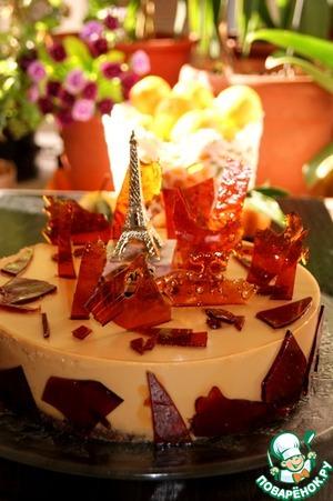 """Рецепт Торт крем-карамель """"Осень в Париже"""""""
