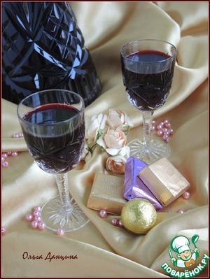 Наливка из черноплодной рябины простой рецепт с фотографиями пошагово готовим