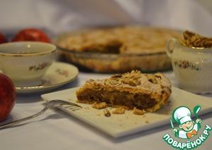 Рецепт Песочный пирог с яблоками и карамелью