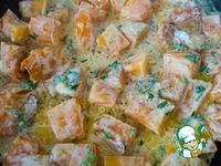 Тыква в сметанно-чесночном соусе ингредиенты