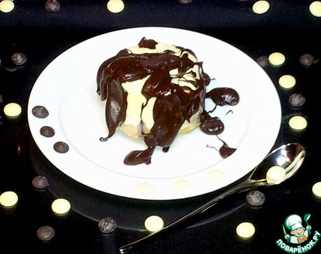 Как готовить Пудинг в белом шоколаде пошаговый рецепт с фотографиями #8