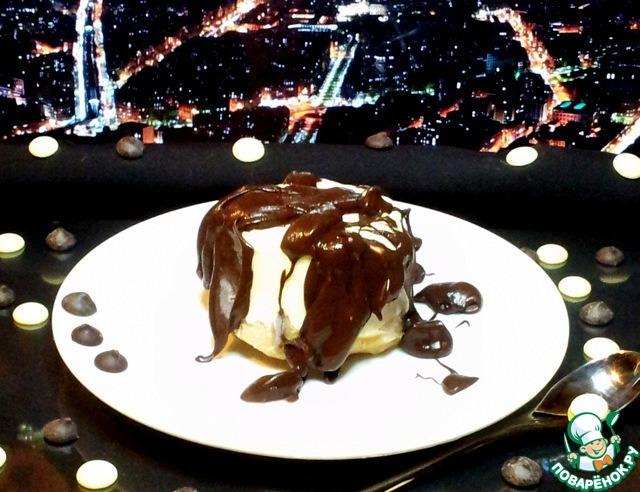 Как готовить Пудинг в белом шоколаде пошаговый рецепт с фотографиями #9