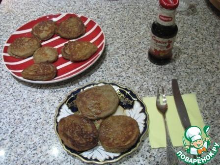 Ржаные оладьи с кленовым сиропом вкусный рецепт приготовления с фото пошагово как готовить #6