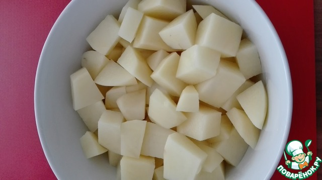 макароны с картошкой рецепт с фото