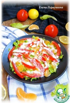 Рецепт Кислый французский салат