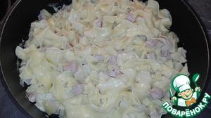 Как приготовить Макароны с картофелем в соусе пошаговый рецепт приготовления с фотографиями