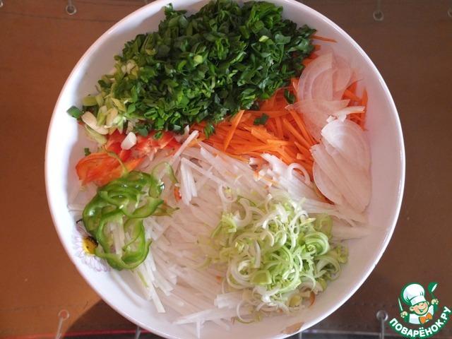 Кимчхи салат из пекинской капусты рецепт приготовления с фотографиями пошагово как готовить #2