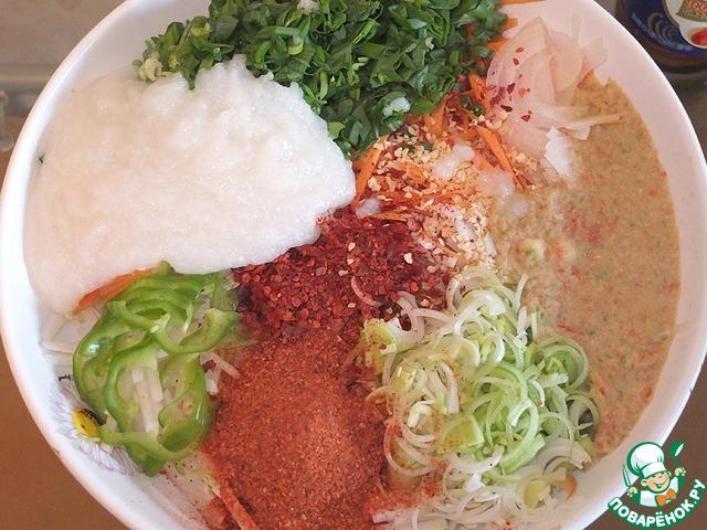 Кимчхи салат из пекинской капусты рецепт приготовления с фотографиями пошагово как готовить #4