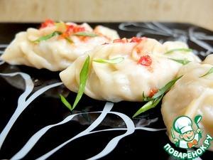 Корейские манты с кимчхи рецепт с фото готовим