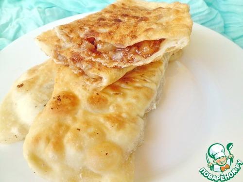 Чебуреки рецепт пошаговый поварёнок
