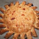"""Нежнейший пирог """"Солнечный"""" с куриной грудкой"""