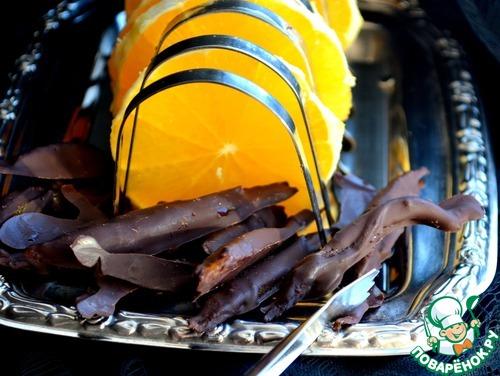 Апельсиновые цукаты в шоколаде вкусный рецепт приготовления с фотографиями как приготовить #7