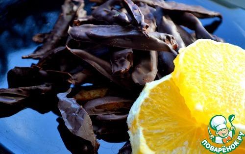 Апельсиновые цукаты в шоколаде вкусный рецепт приготовления с фотографиями как приготовить #8
