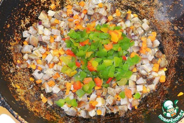 """Макароны в соусе а-ля """"буррито"""" вкусный рецепт с фотографиями как готовить #3"""