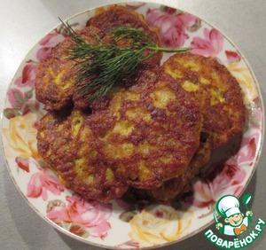 Рецепт Оладушки из молок лососевых