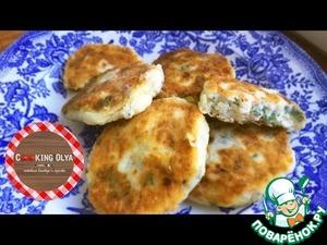 Рецепт Соленые сырники с брынзой и зелеью