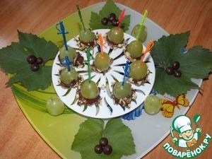 Рецепт Виноградный десерт