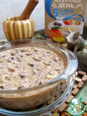 Рецепт Бананово-ореховая каша