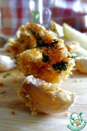Рецепт Креветки с гарниром из картофеля