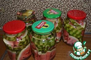 Рецепт Арбузики соленые