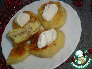 Рецепт Картофельные зразы с гречкой