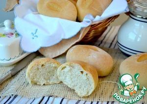 Как готовить Французские булочки простой пошаговый рецепт с фотографиями