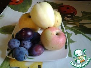 Рецепт Варенье сливово-яблочное