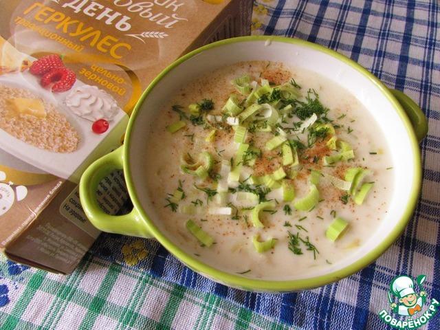 суп куриный с луком порей рецепты