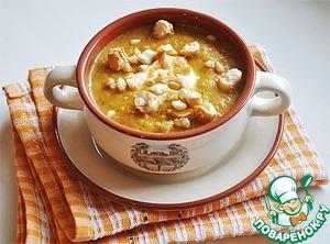 Рецепт Морковный суп-пюре с манго