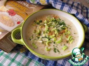 Рецепт Суп по-ирландски с геркулесом