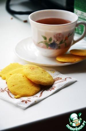 Кукурузное печенье за 2 минуты вкусный пошаговый рецепт с фотографиями