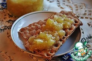 Рецепт Джем и кабачка или антоновки