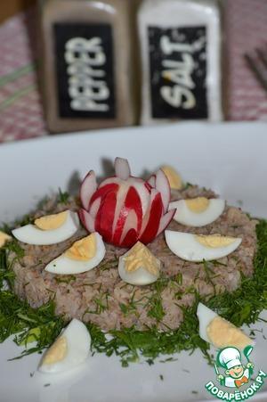 Рецепт Гречневая каша с перепелиным яйцом и зеленью