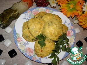 Рецепт Котлеты из картофеля, кабачков и творога