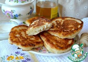 Рецепт Постные оладушки-пышки