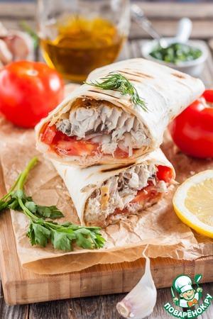 """Рецепт """"Рыба с хлебом"""" по-турецки"""