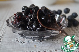 Рецепт Варенье из черноплодной рябины в СВЧ