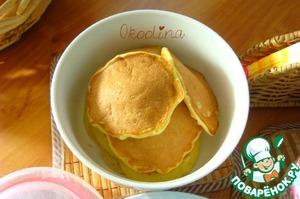 Рецепт Кабачковые оладьи с ванилью на йогурте